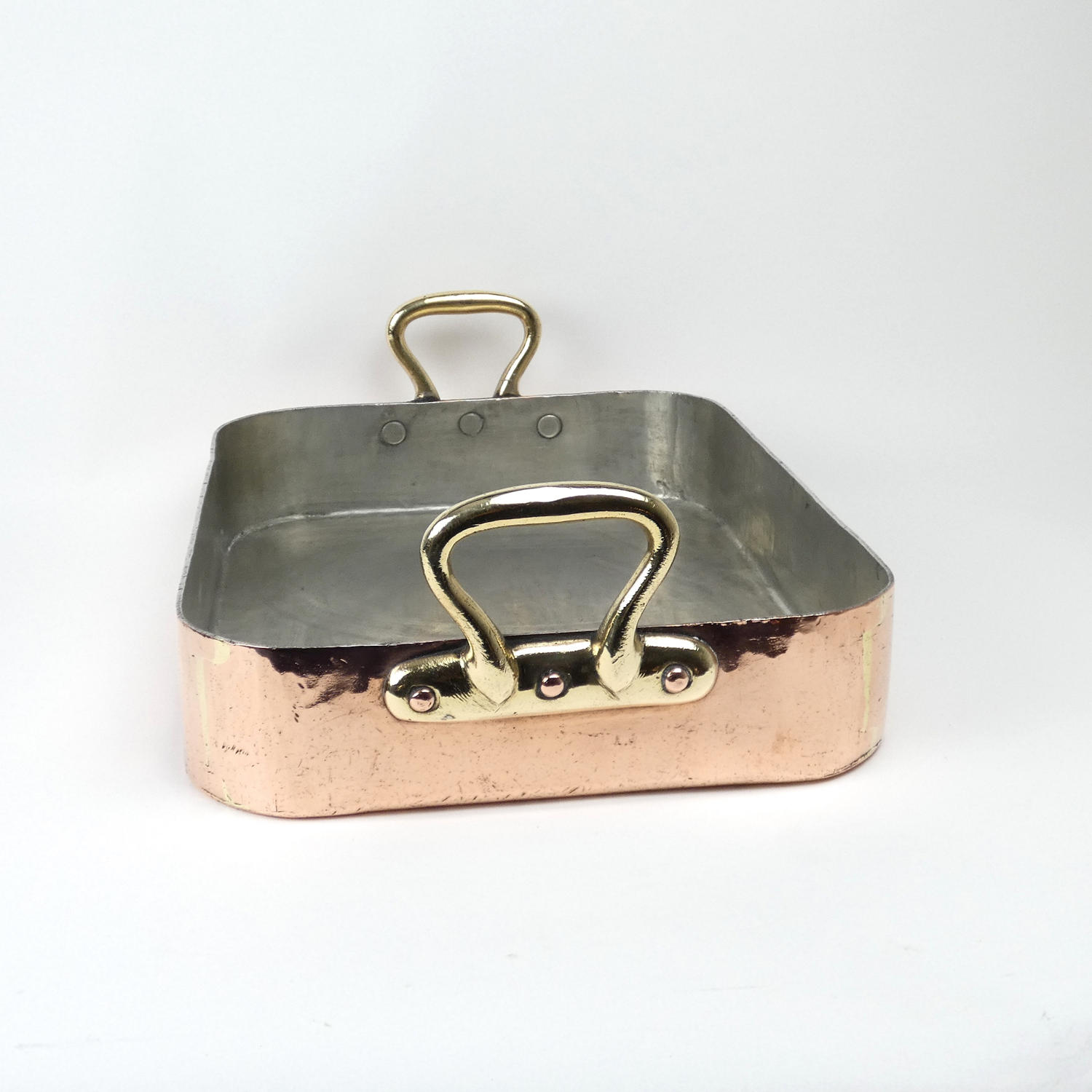 Heavy Copper Roasting Pan.