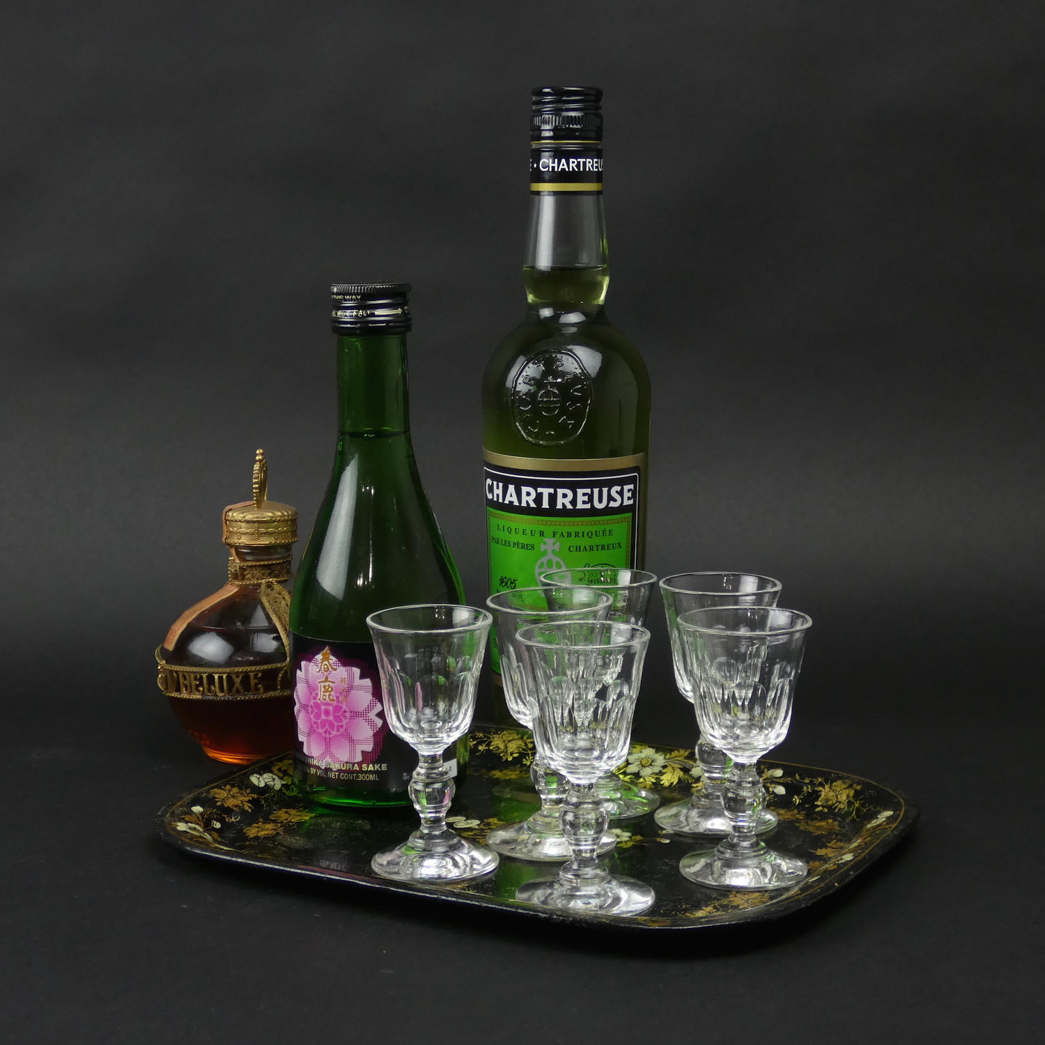 Crystal Liquer Glasses