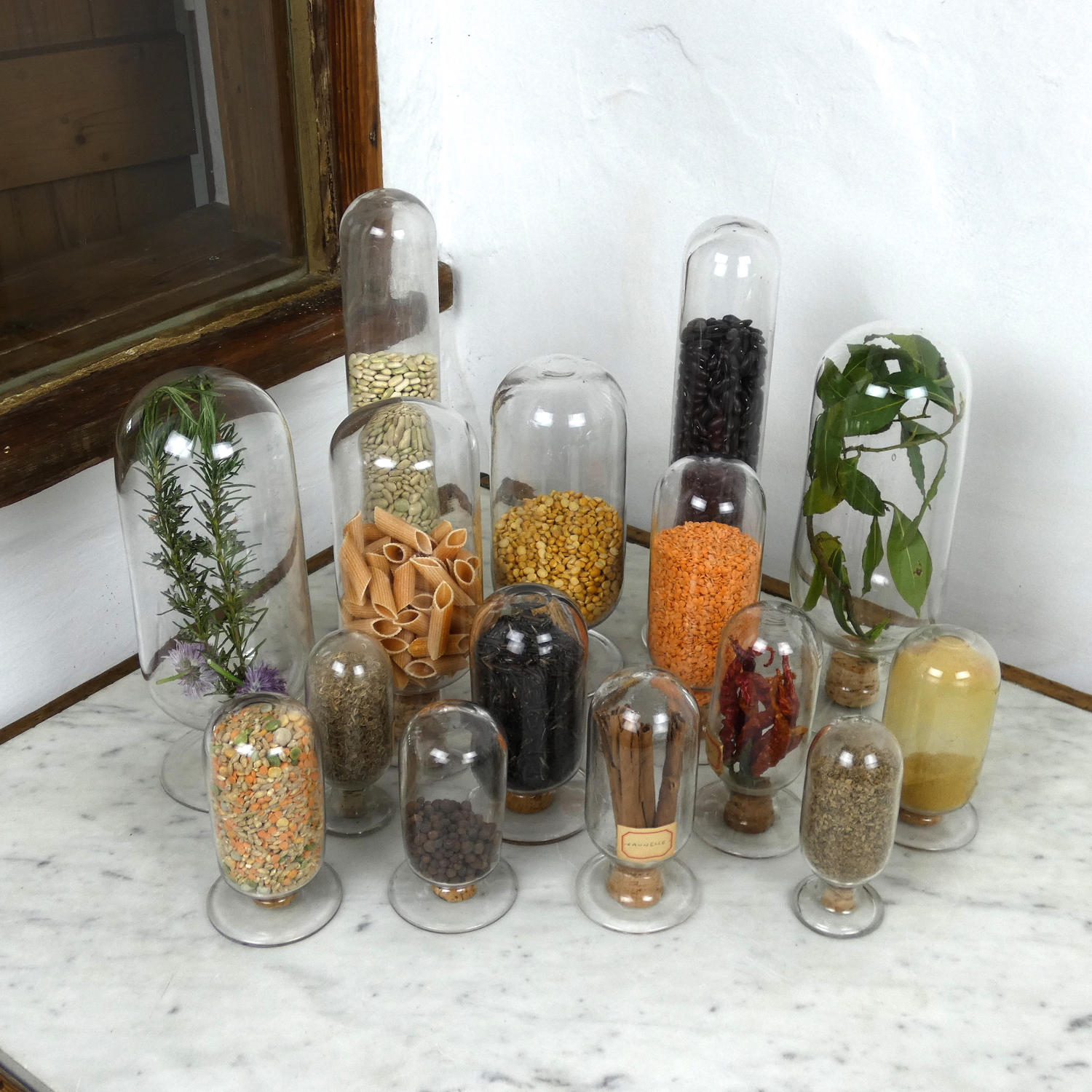 Shop Display Jars.