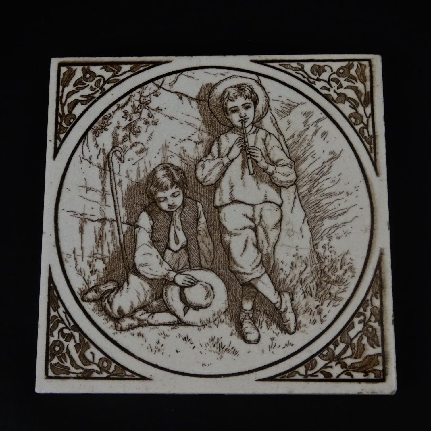 Victorian Picture Tile