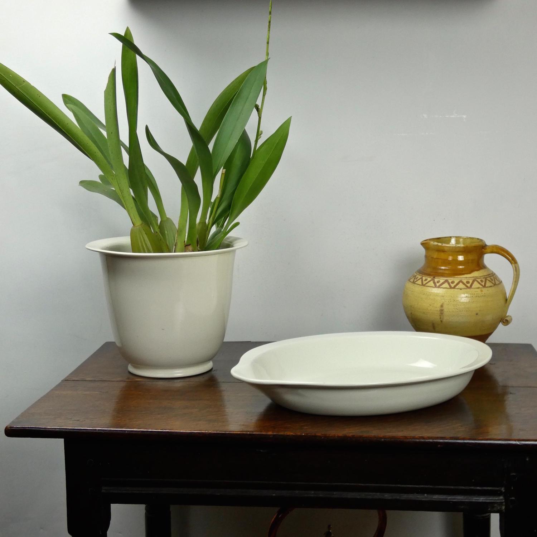 Whiteware Settling Pan