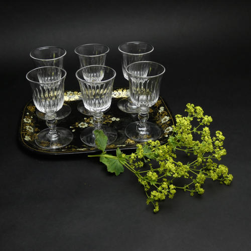 Crystal Port or Sherry Glasses