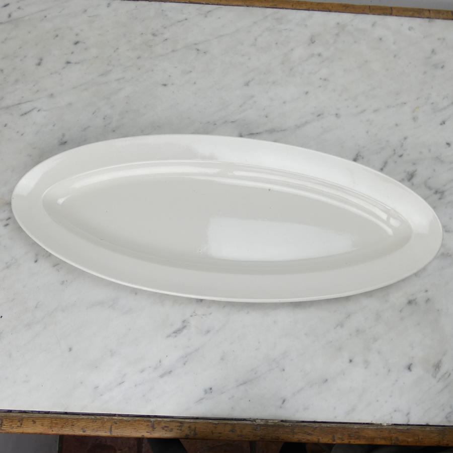 Creamware Salmon Plate