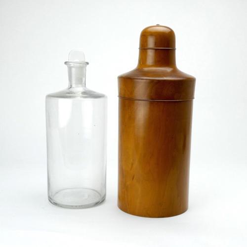 Large Medicine Bottle in Case