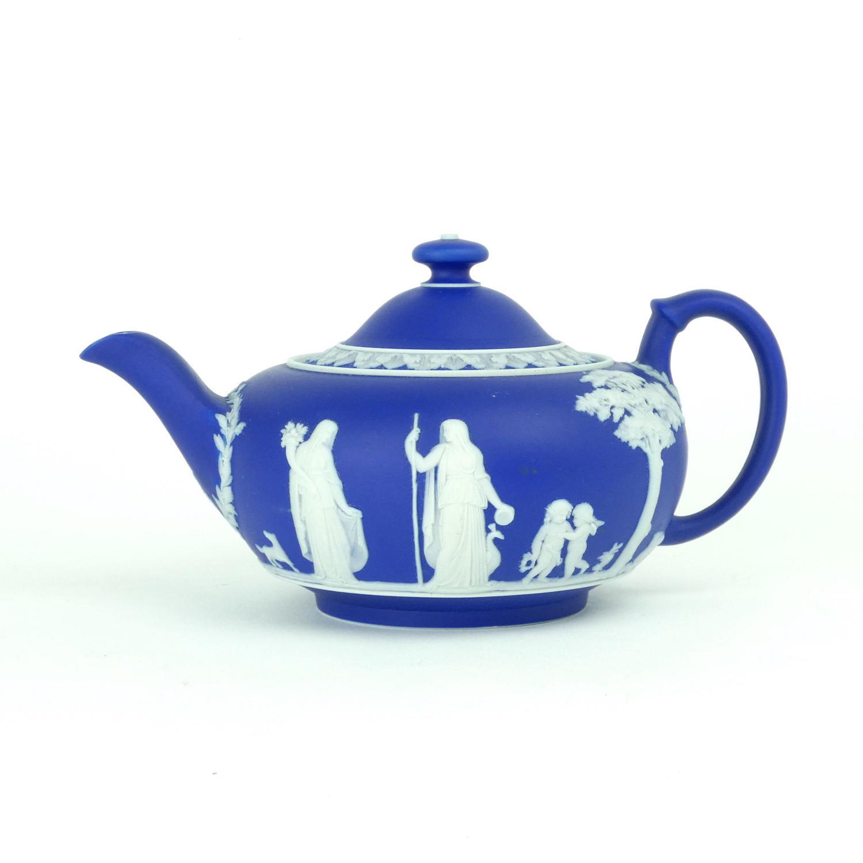 Squat Shaped Teapot