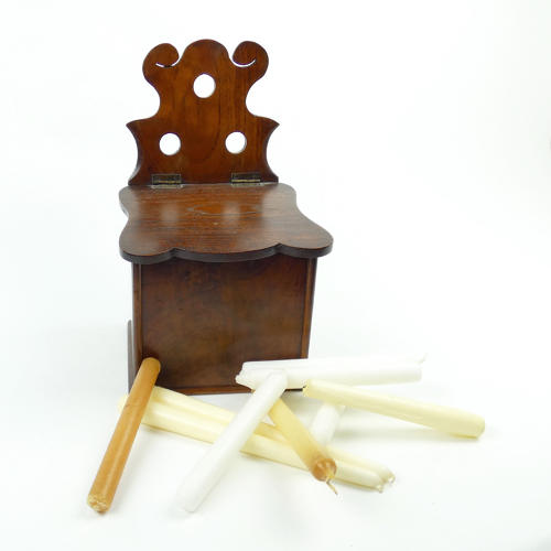 Early 19th Century Candle Box