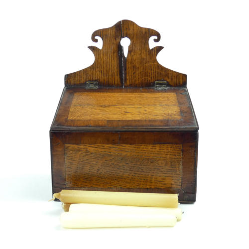 18th Century Candle Box