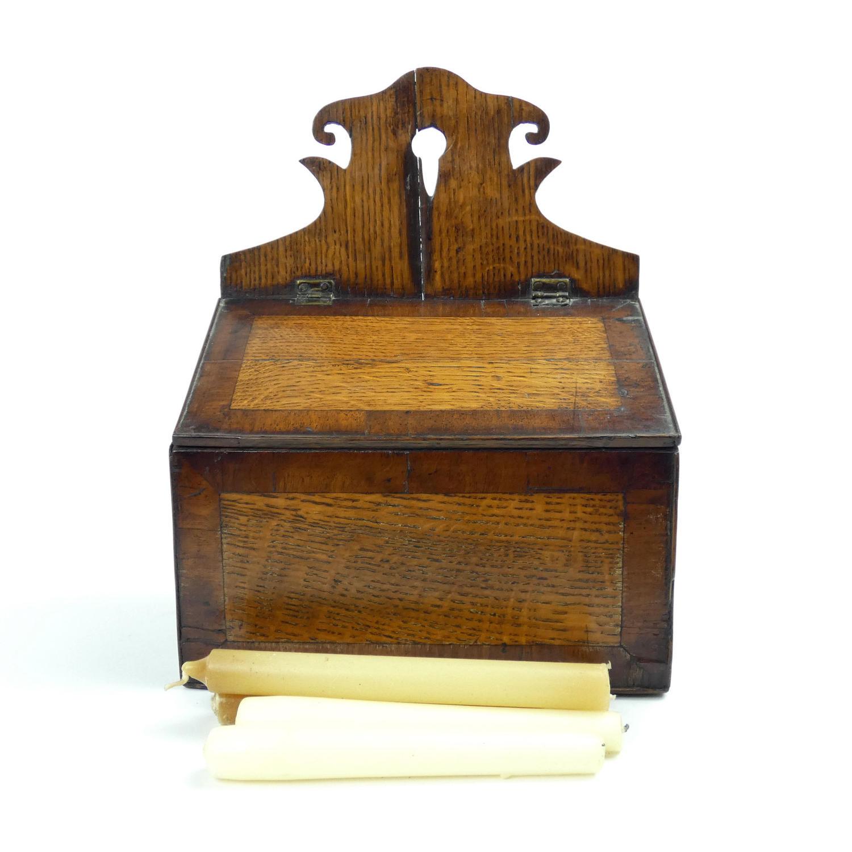 18th Century Candle Box