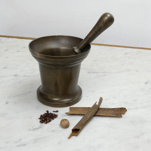 Bronze Mortar & Pestle