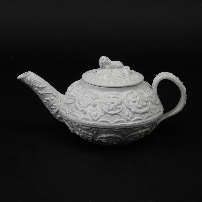 Smear Glazed Teapot