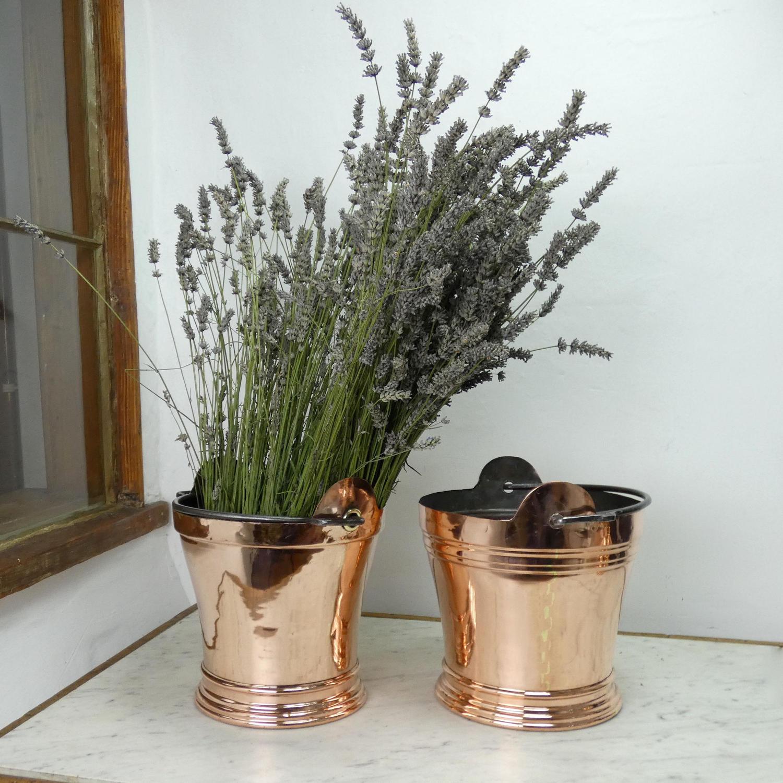 Copper Milking Bucket