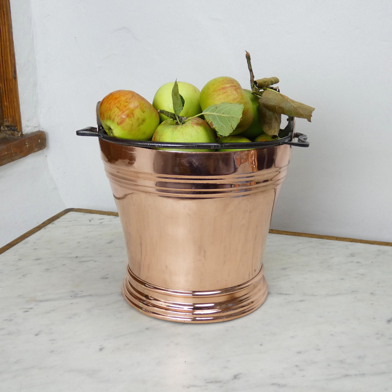 Copper Dairy Bucket