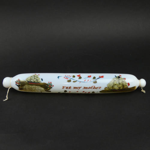 Decorated Glass Rolling Pin