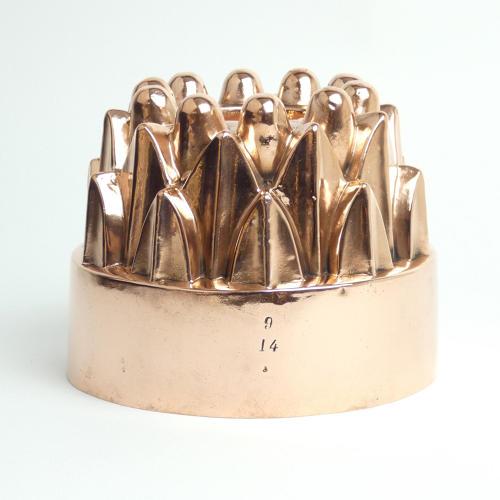 Victorian Copper Pipe Mould