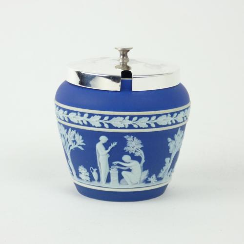 Blue Jasper Preserve Pot