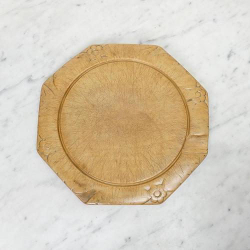 Octagonal beechwood board
