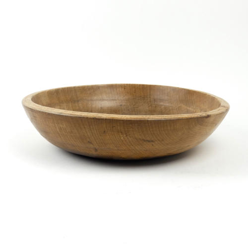 Beechwood butter bowl