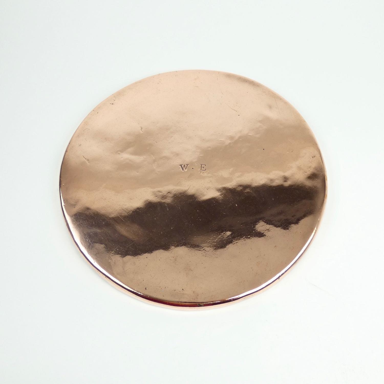 Large copper baking sheet