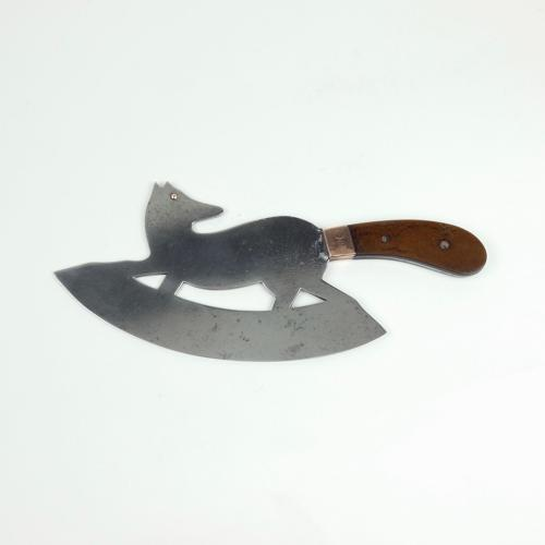 Fox shaped ice cleaver