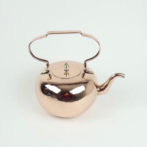 Unusual copper kettle
