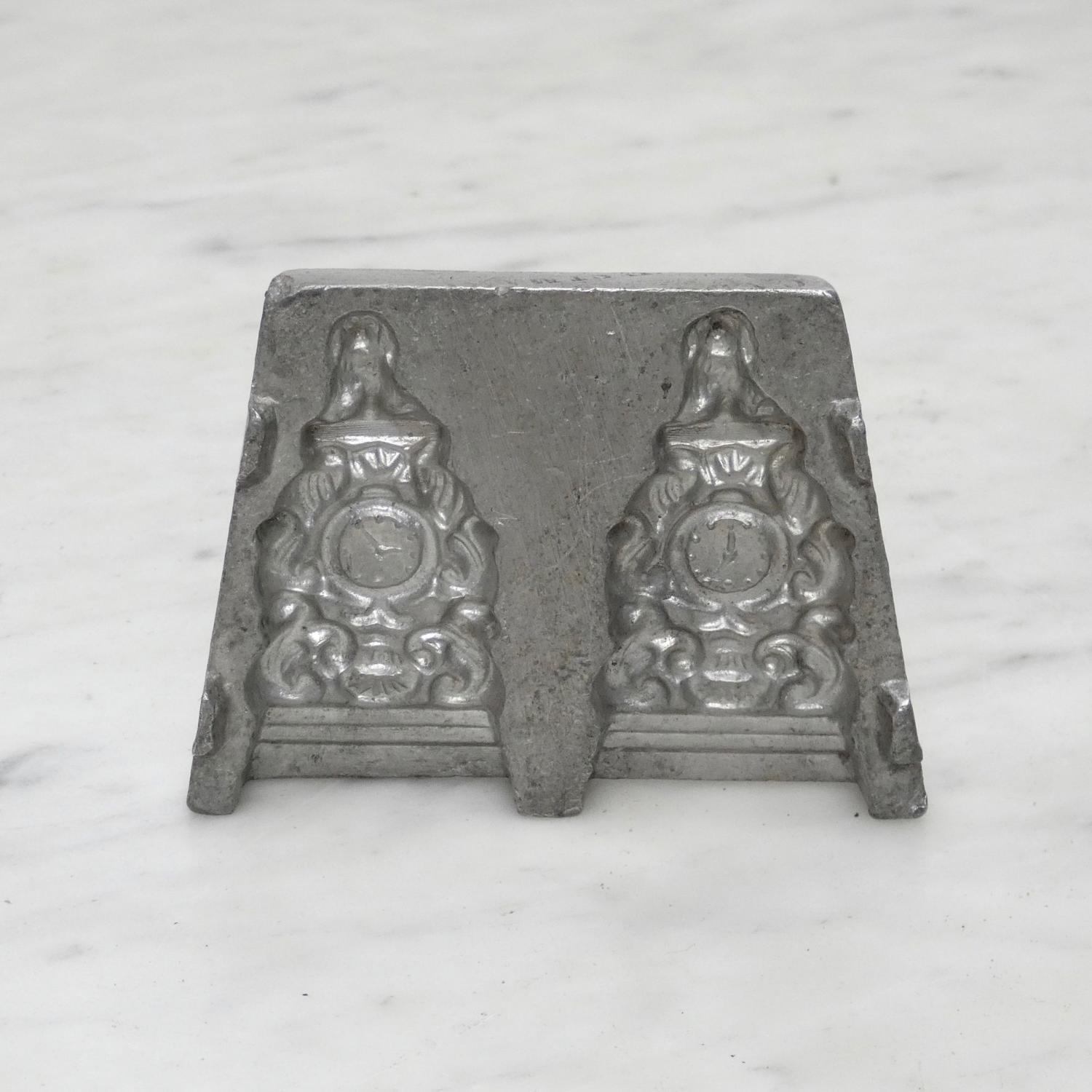 Pewter sugar mould