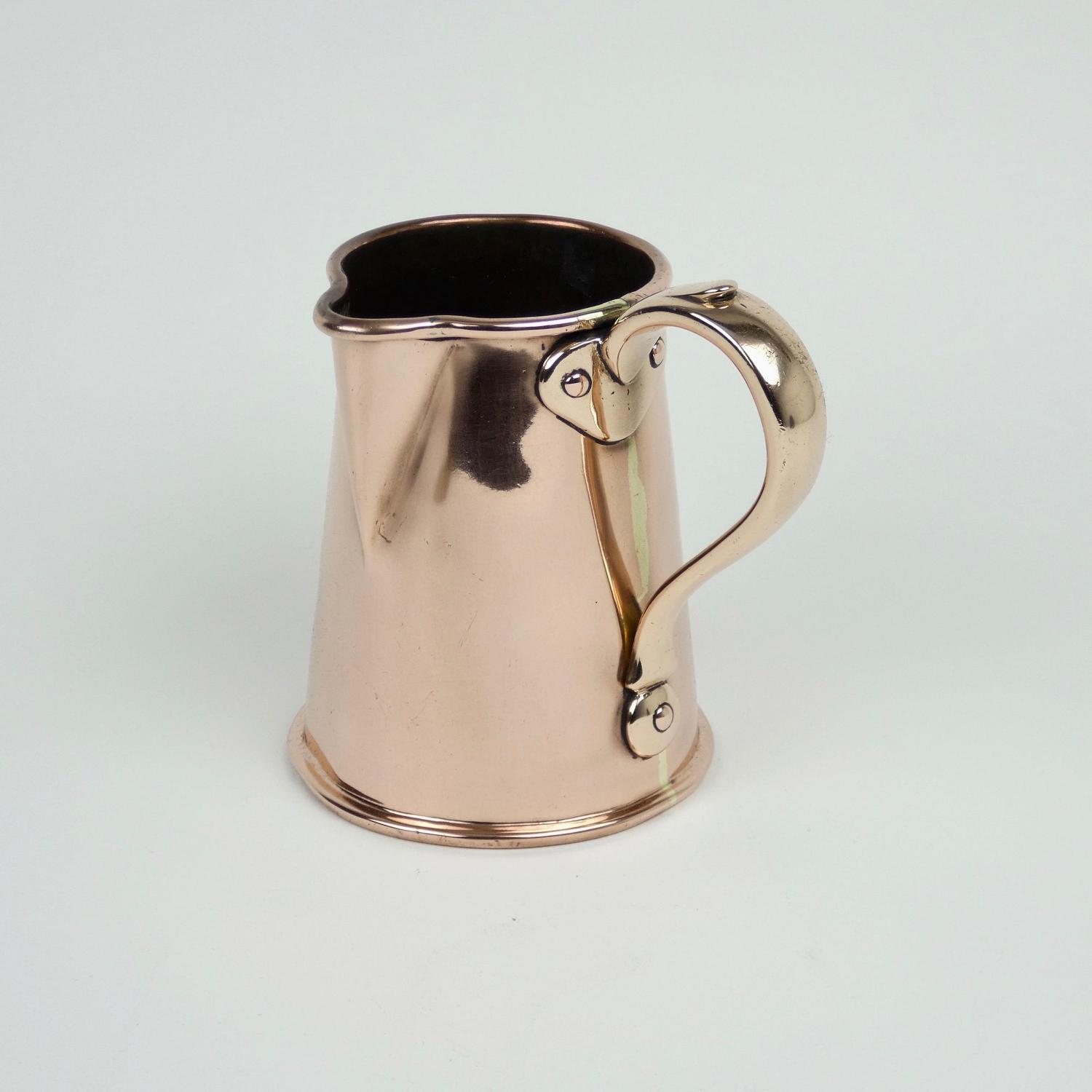 Benhams copper jug