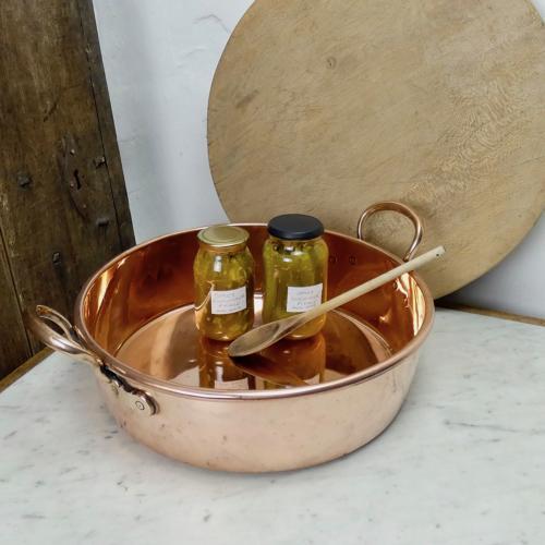 English preserve pan