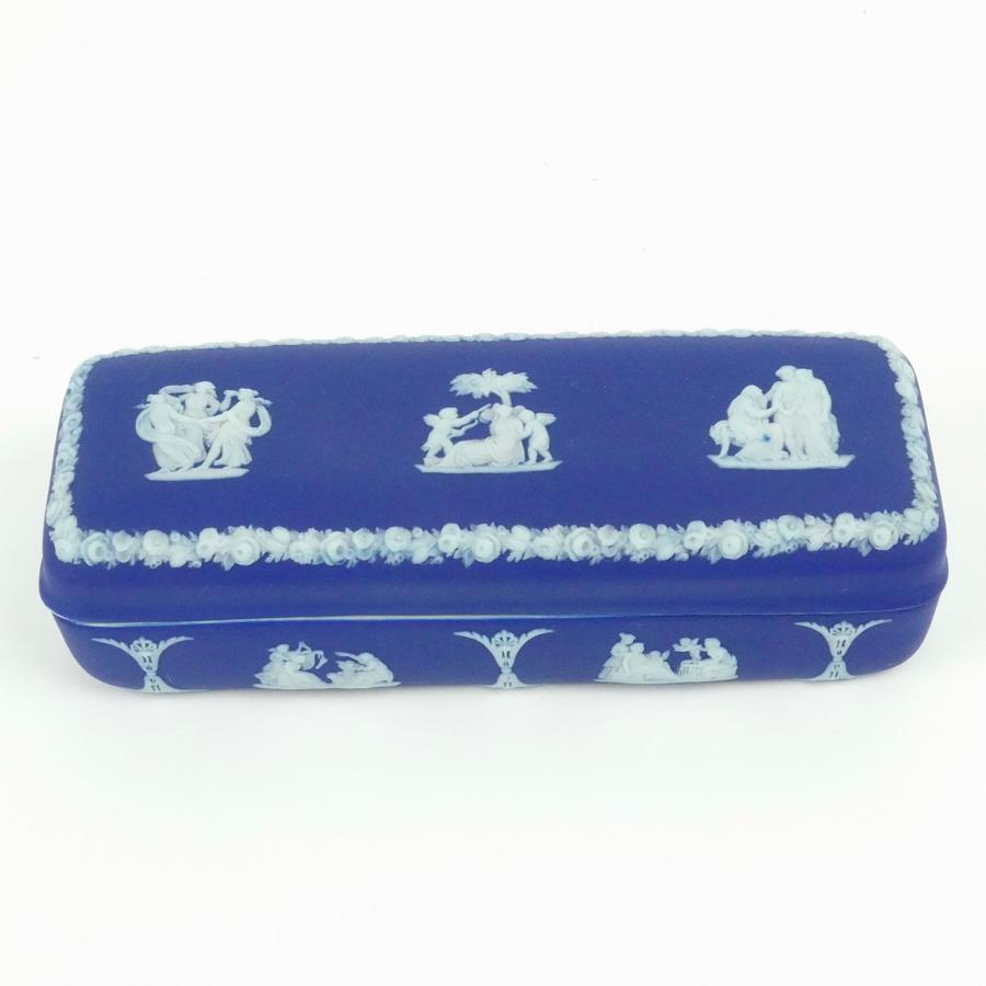 Oblong trinket box