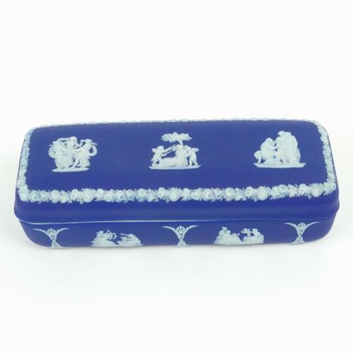 Oblong trinket box