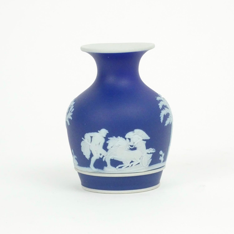 Miniature Blue Jasper Vase