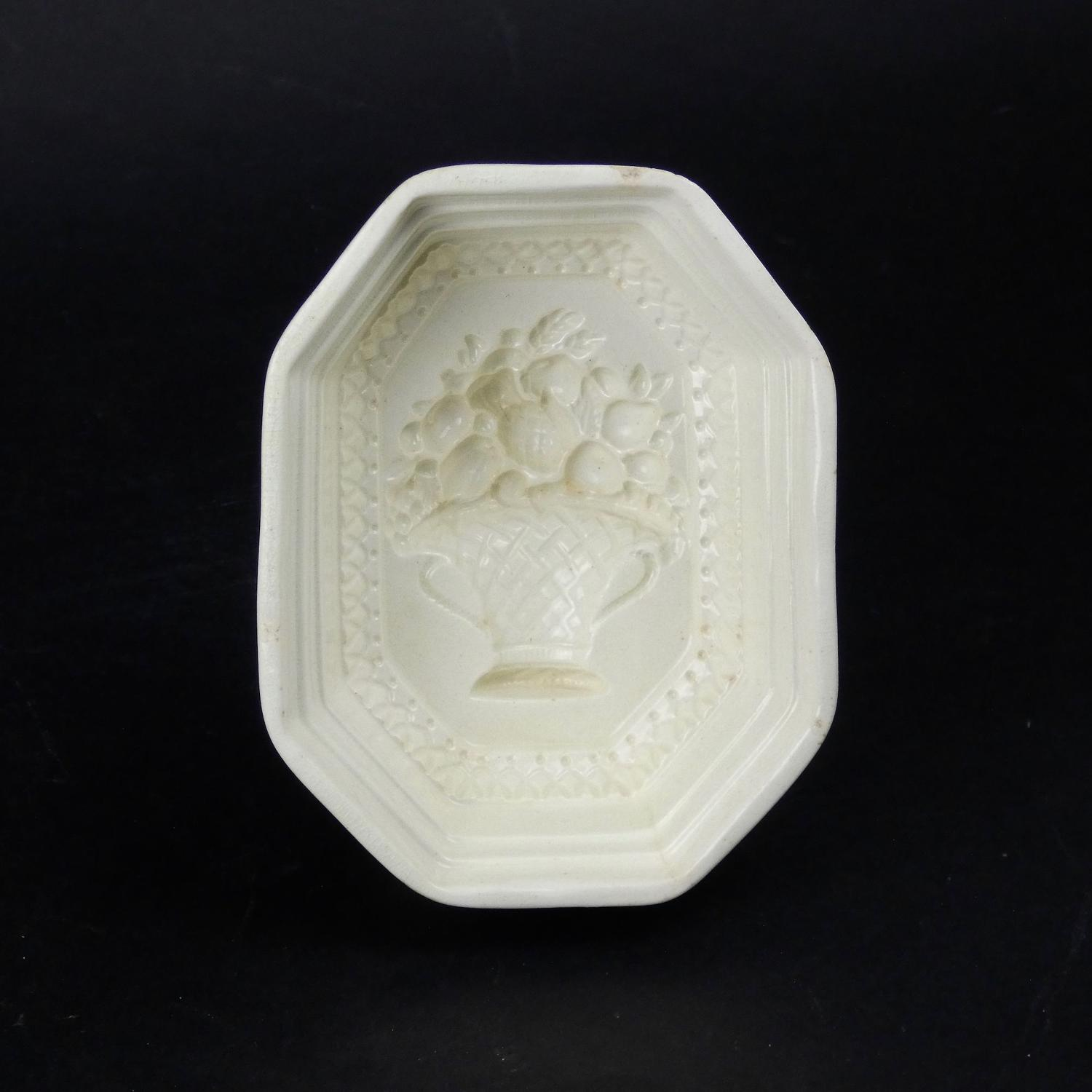 Davenport creamware mould