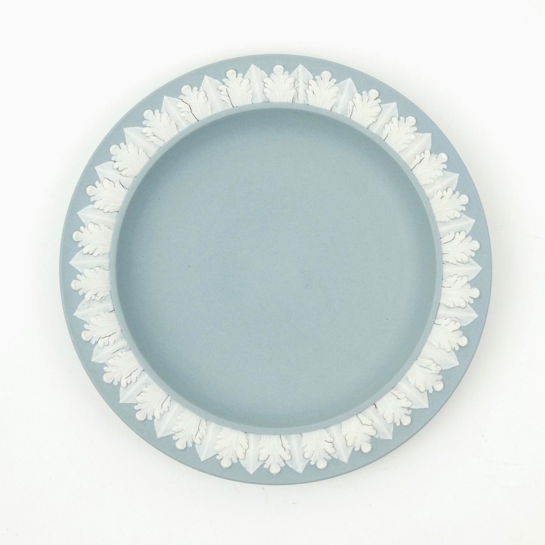 Rare, 18th century grey jasper plate