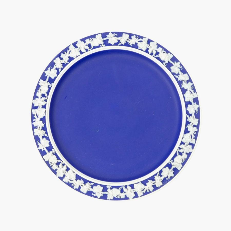 Blue jasper tea plate