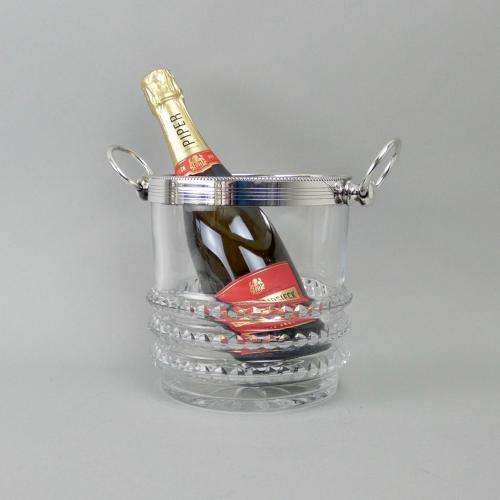 Baccarat champagne cooler