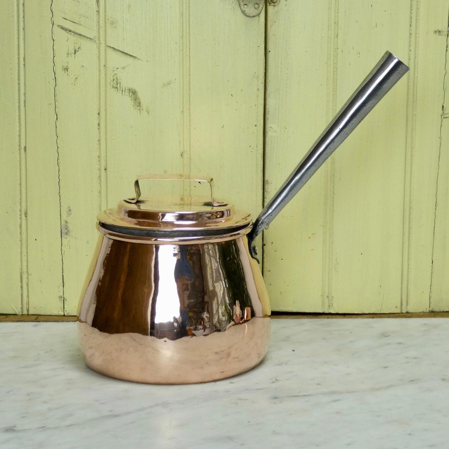 Victorian saucepan with lid