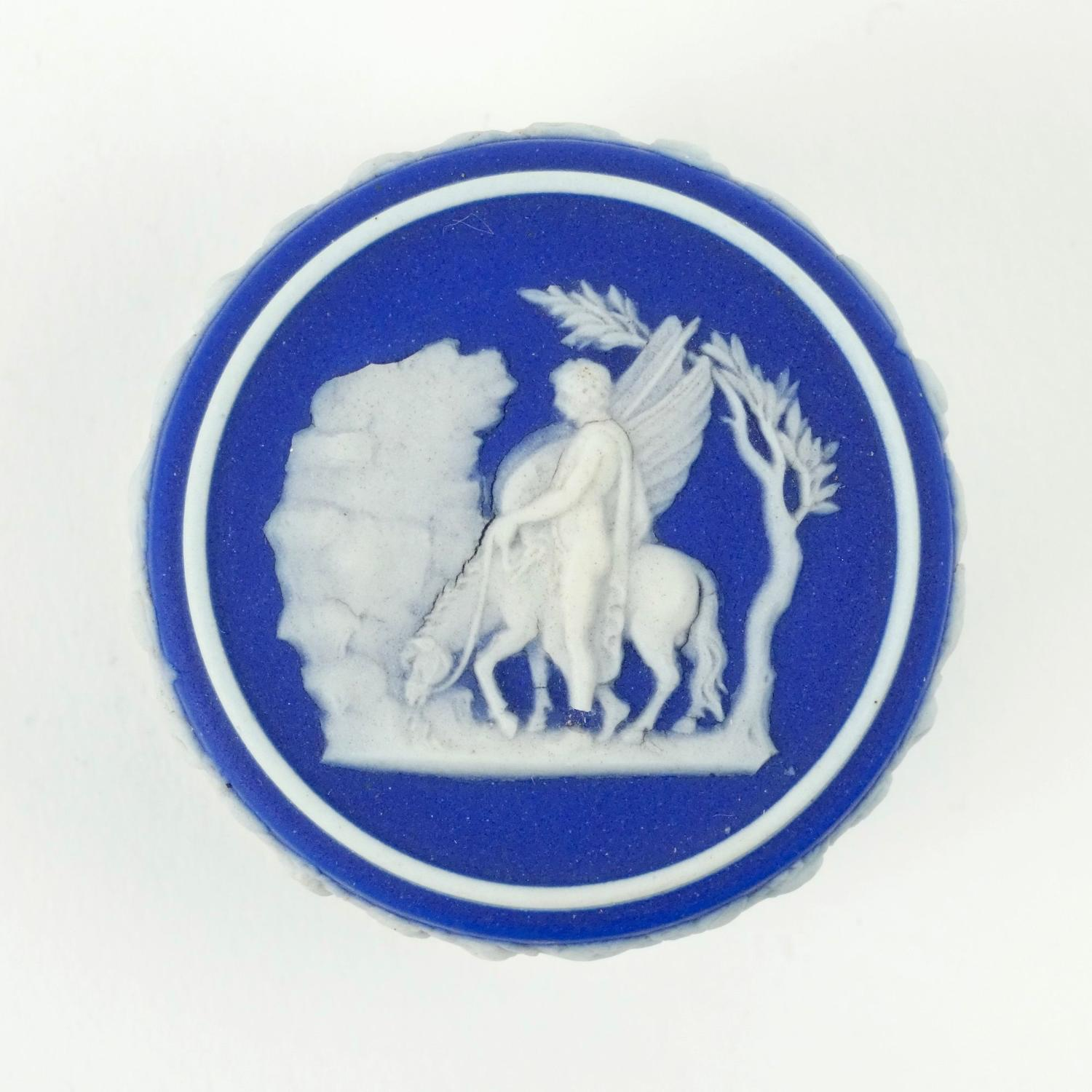Wedgwood patch box