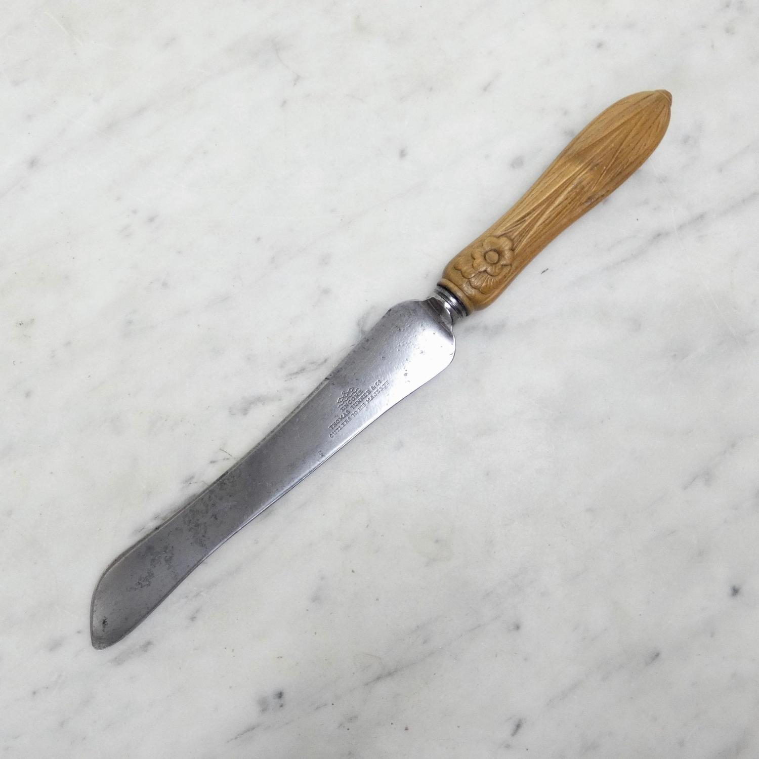 Thomas Turner bread knife