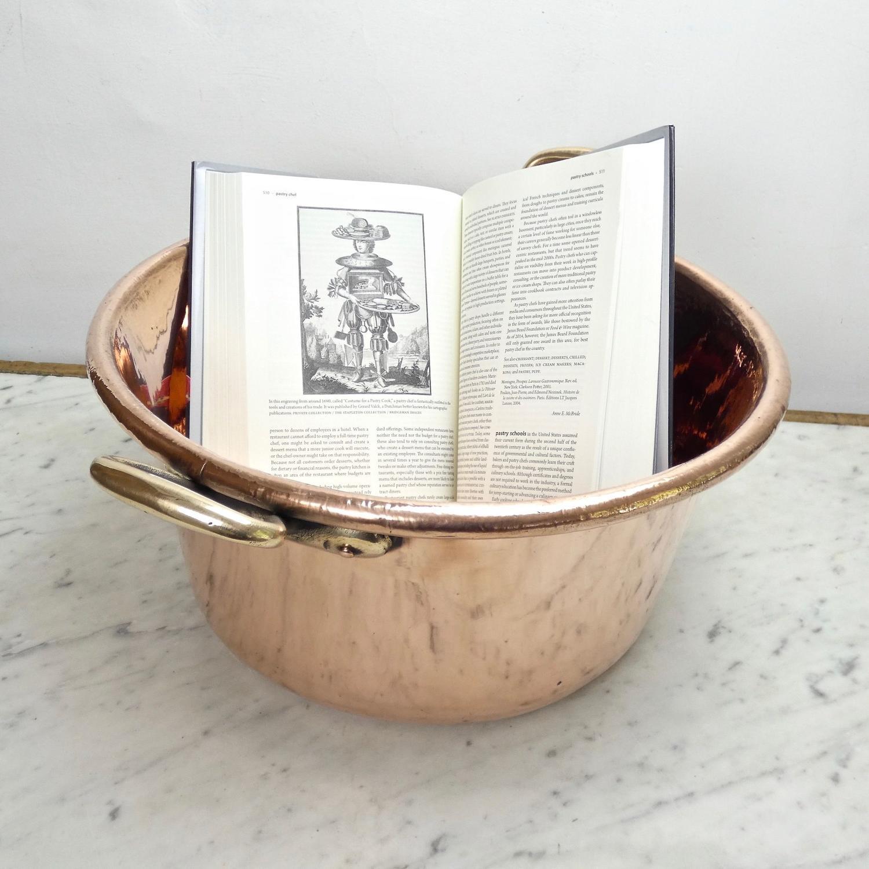 Deep French preserve pan
