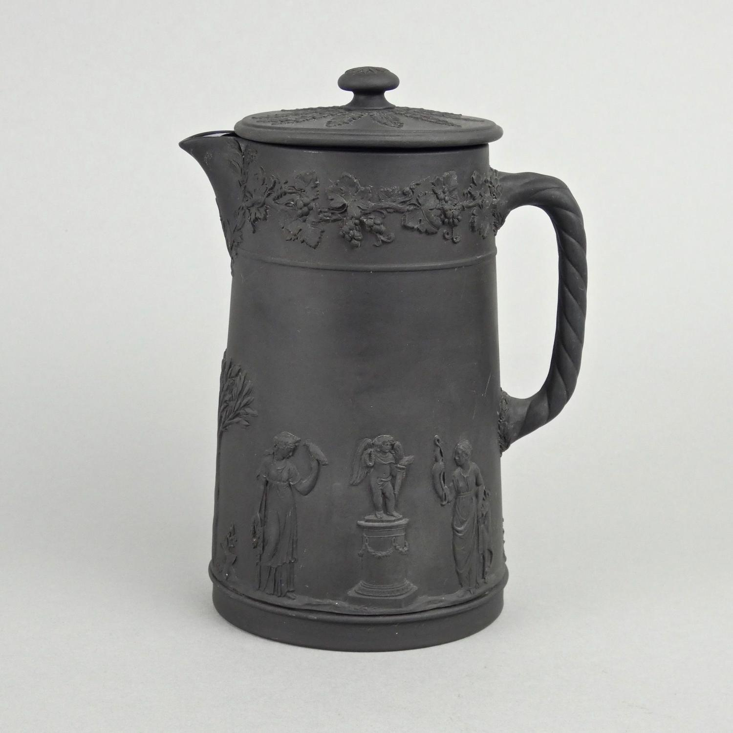 Wedgwood basalt hot water jug