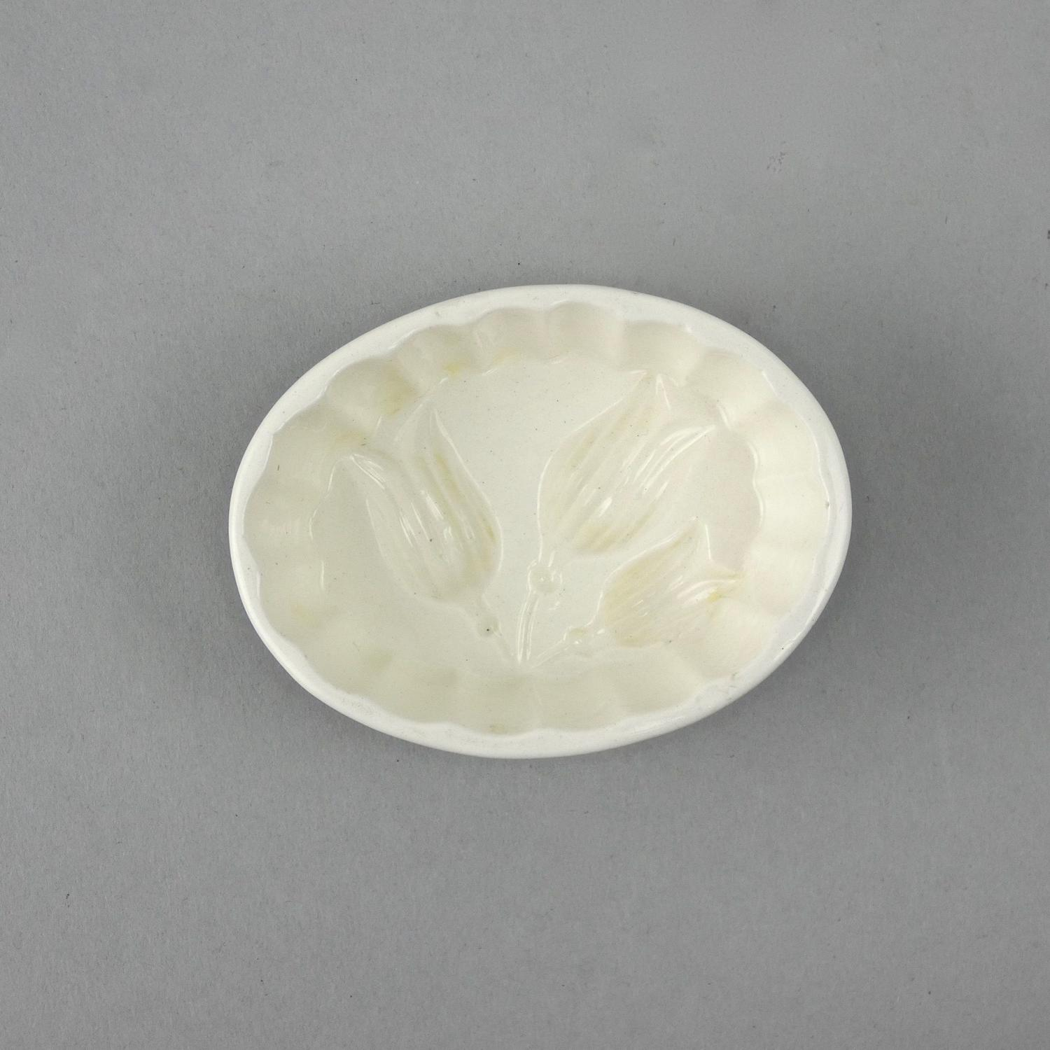 Small Spode creamware mould