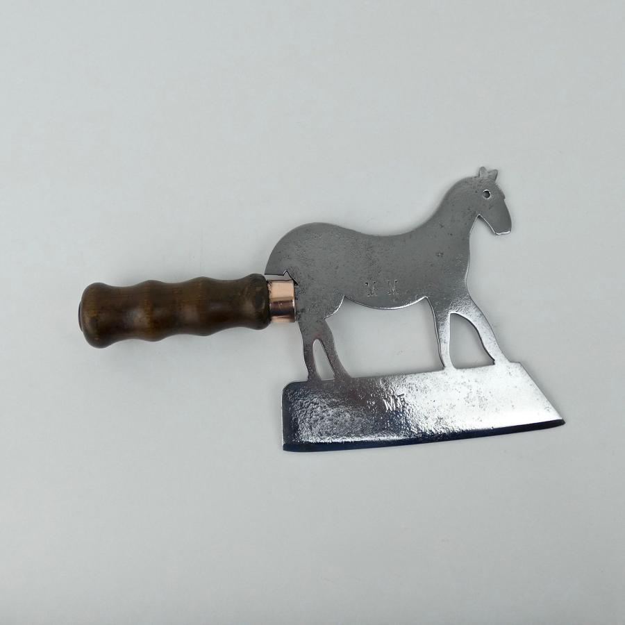 Horse shaped sugar cleaver
