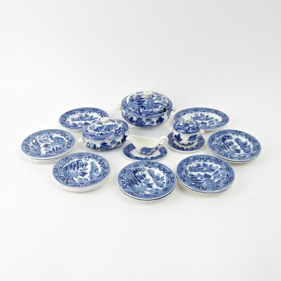 Wedgwood miniature dinner service