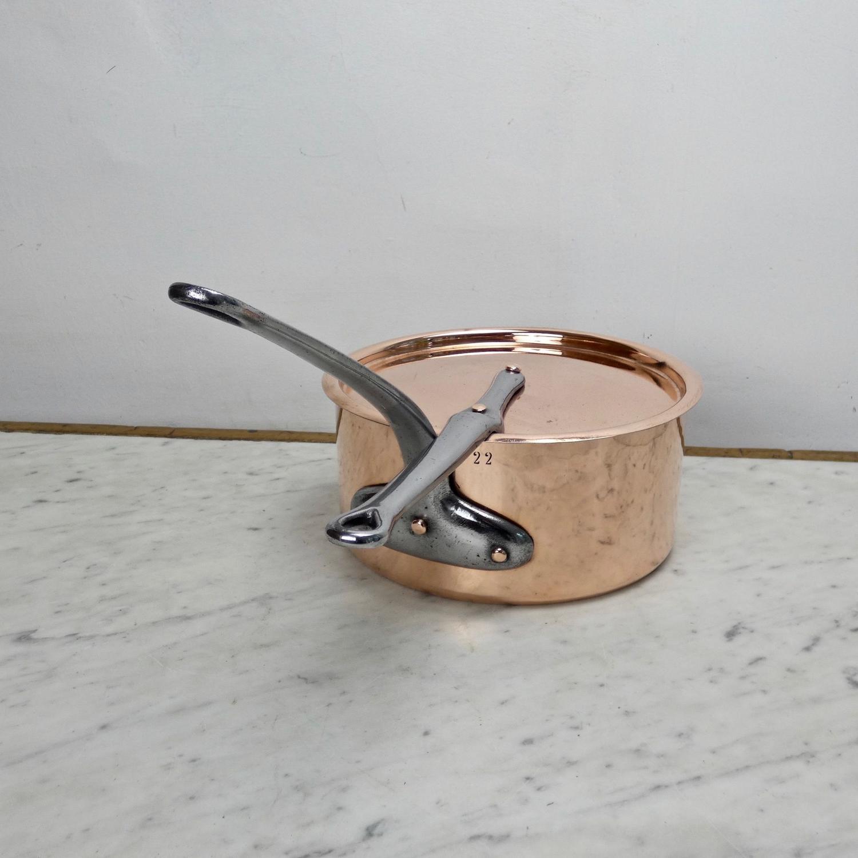 19th century, French copper saucepan