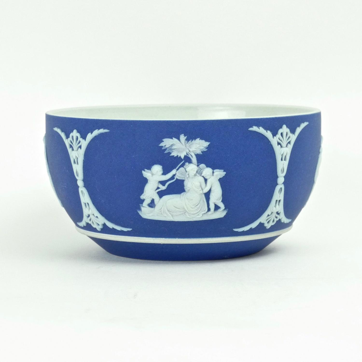 Wedgwood jasper sugar bowl