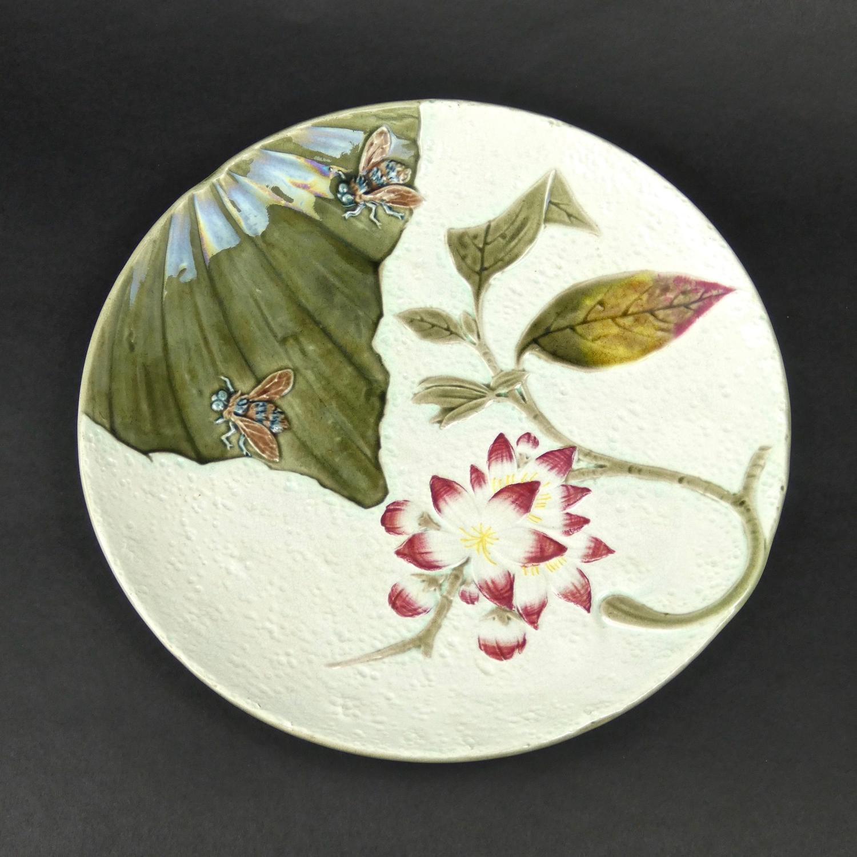 Unusual, Wedgwood majolica plate