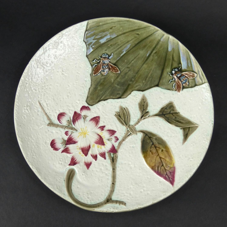 Unusual Wedgwood majolica plate