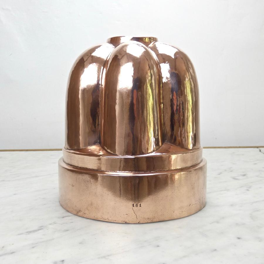 Enormous, French copper mould