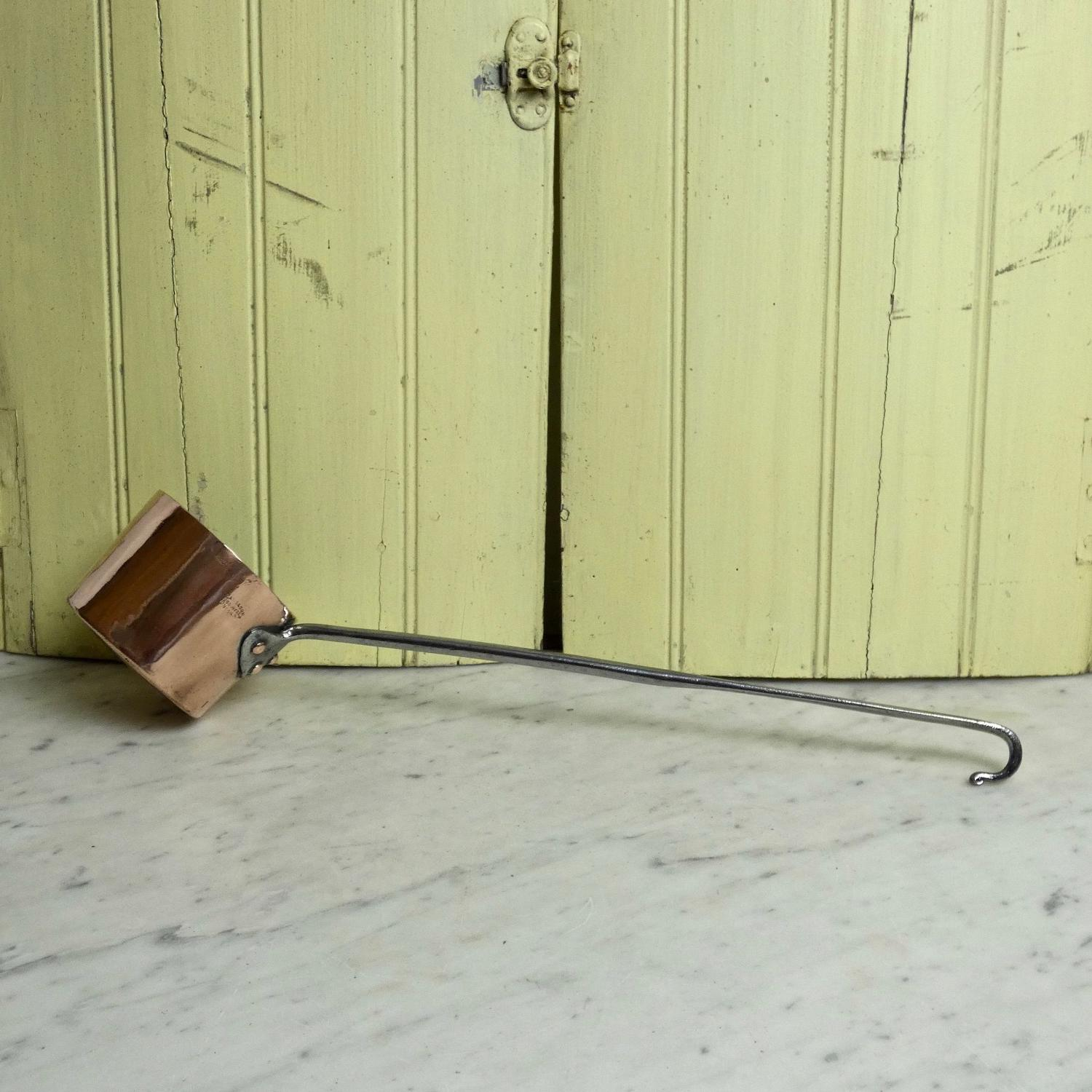 English copper ladle