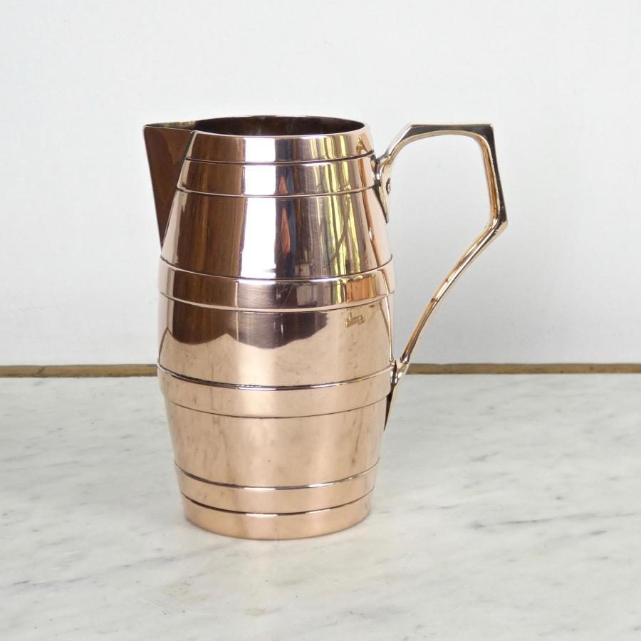 Unusual copper jug