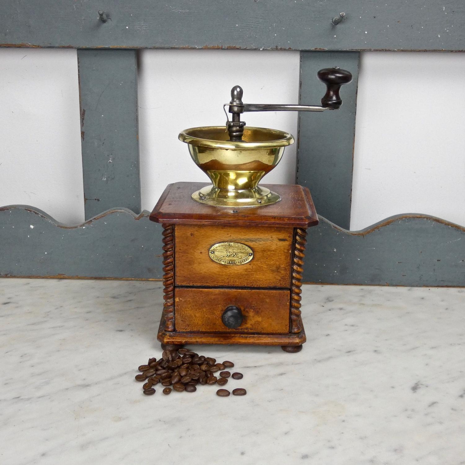 Peugeot wooden coffee mill